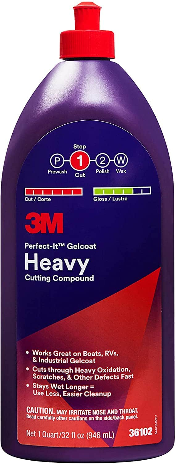 Perfect-It 36102 White Gelcoat Heavy Cutting Compound