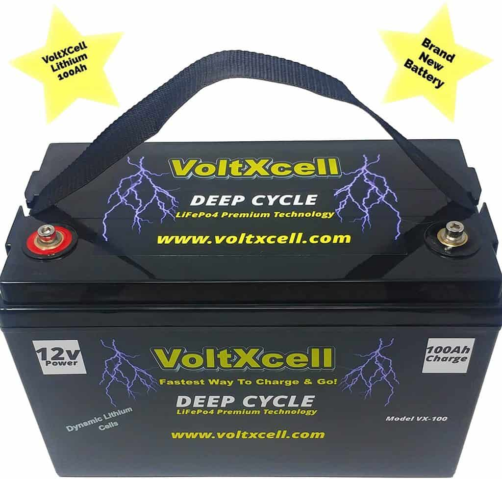 VoltXcell Volt LifePo4 100a Lithium Battery