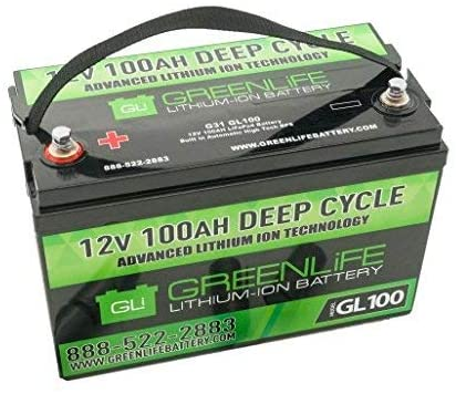 GreenLiFE Battery GL100 12V Lithium-Ion Cell
