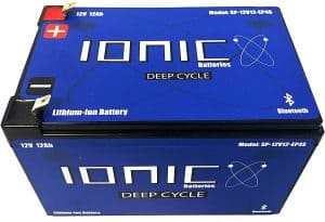 Ionic Lithium Deep Cycle Battery 12V50-EP