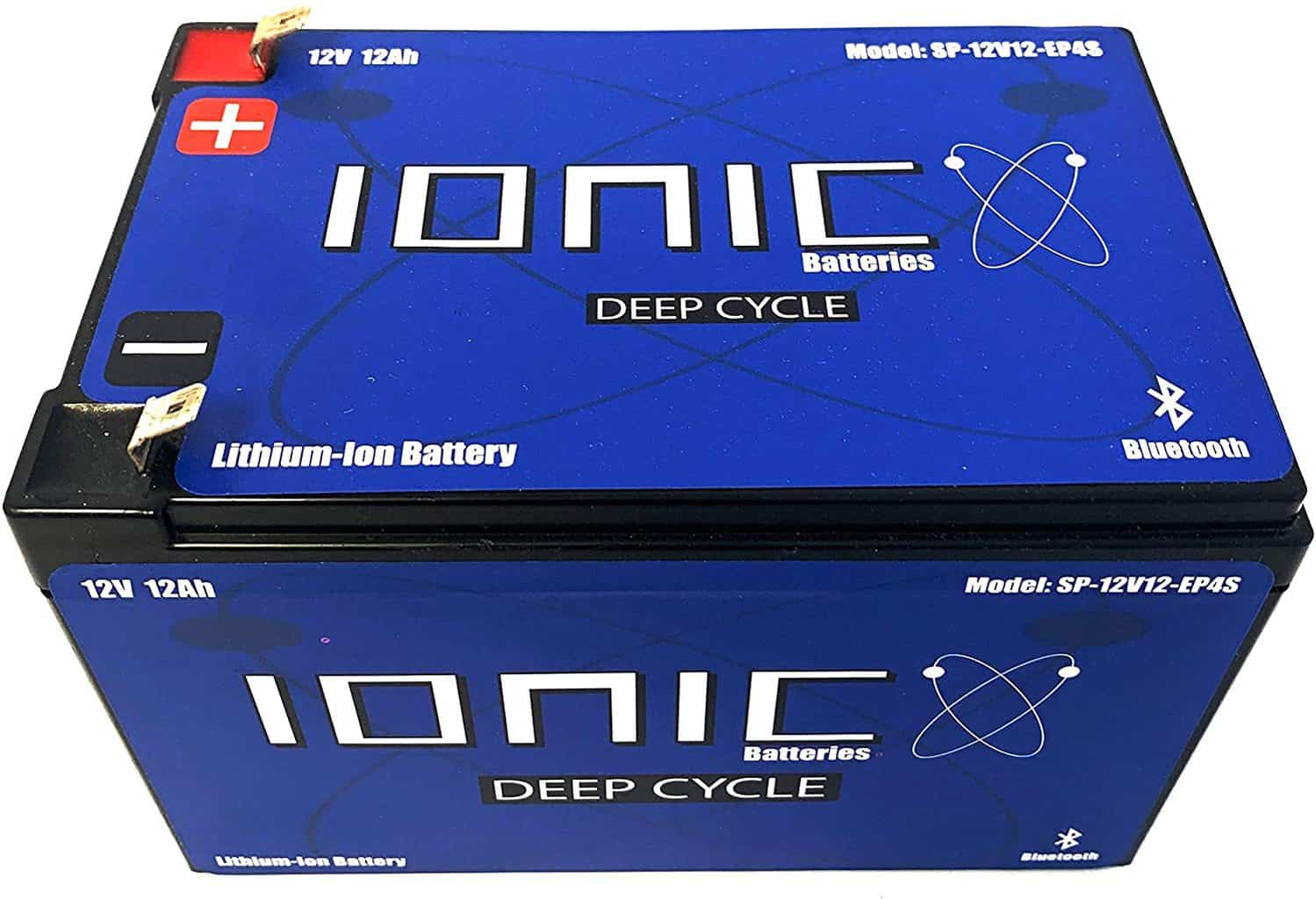 9 Ionic Lithium Deep Cycle Battery 12V50-EP