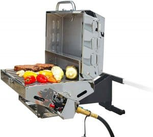 1 Camco Olympian 5500 Stainless Steel Portable Gas Grill