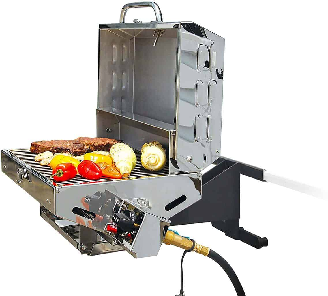 Camco Olympian Stainless steel 5500 Portable Gas Grill