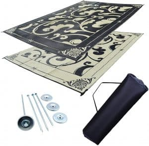 1 Professional EZ Travel Collection RV Awning Mat