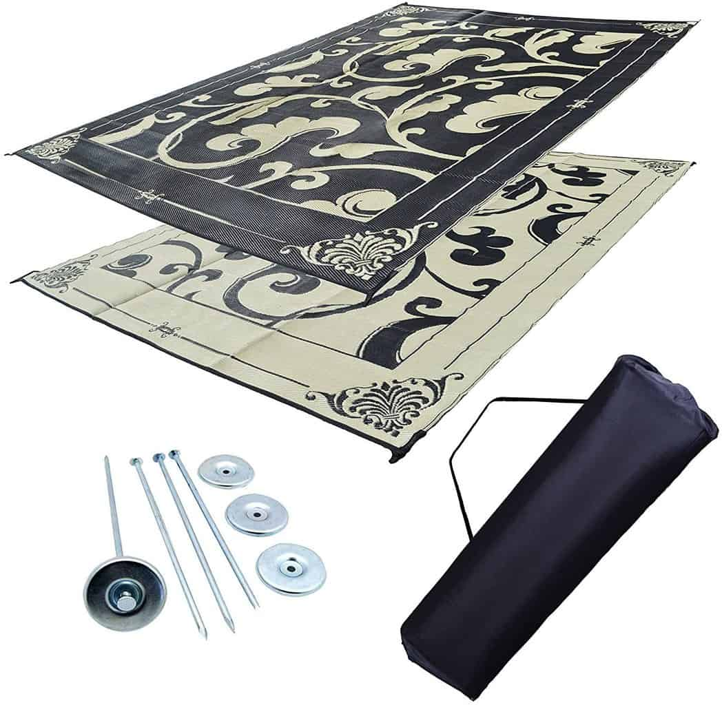 Professional EZ Travel Collection RV Awning Mat