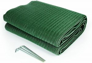 10 Camco Durable Reversible RV Awning Mat