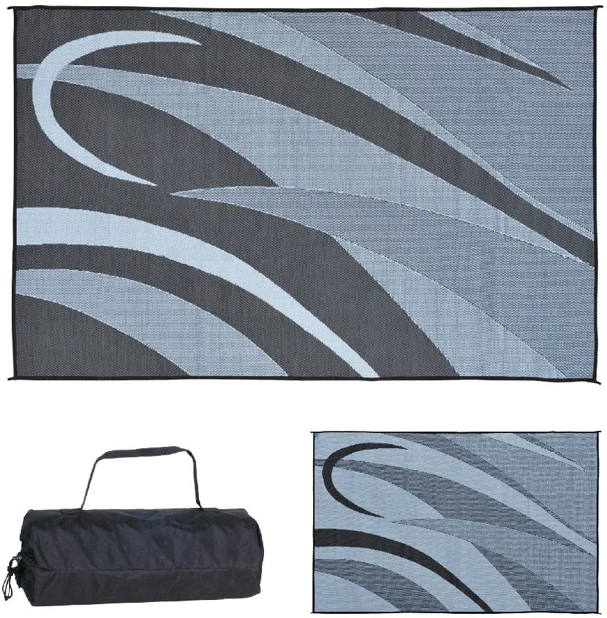 12 Ming's Mark GA1 Stylish Camping Reversible Graphic Patio Mat