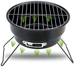 ColourTree Portable Folding Simple BBQ Charcoal Grill
