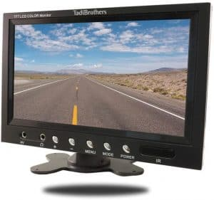 13 Tadibrothers 7-inch Monitor with Mounted Wireless RV Backup Camera