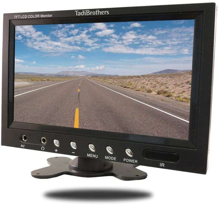 Tadibrothers 7-inch Monitor with Mounted Wireless RV Backup Camera