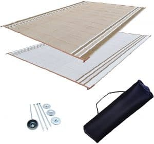 18 EZ Travel Mats RV Awning Mat
