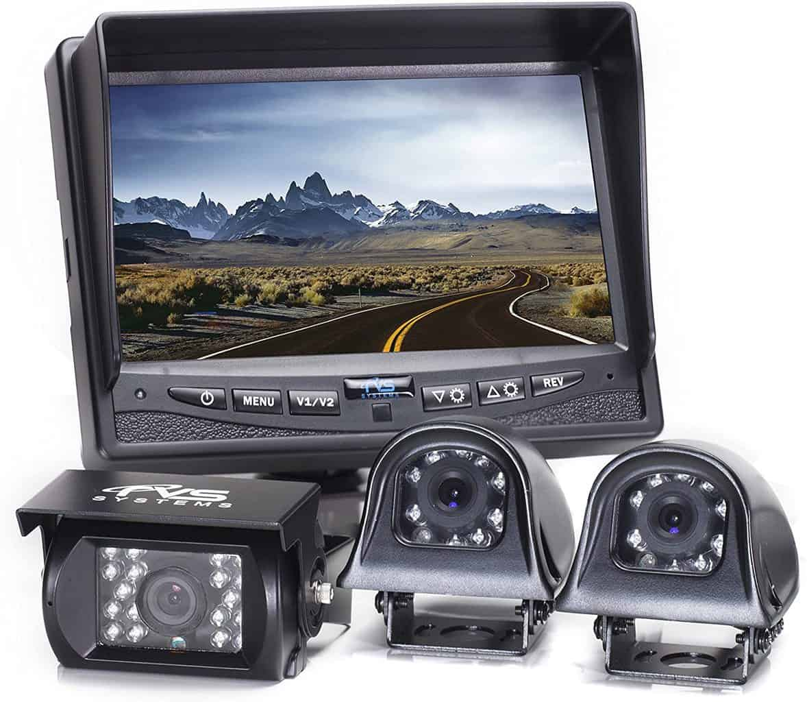 Rear View Safety RVs Backup Cam System