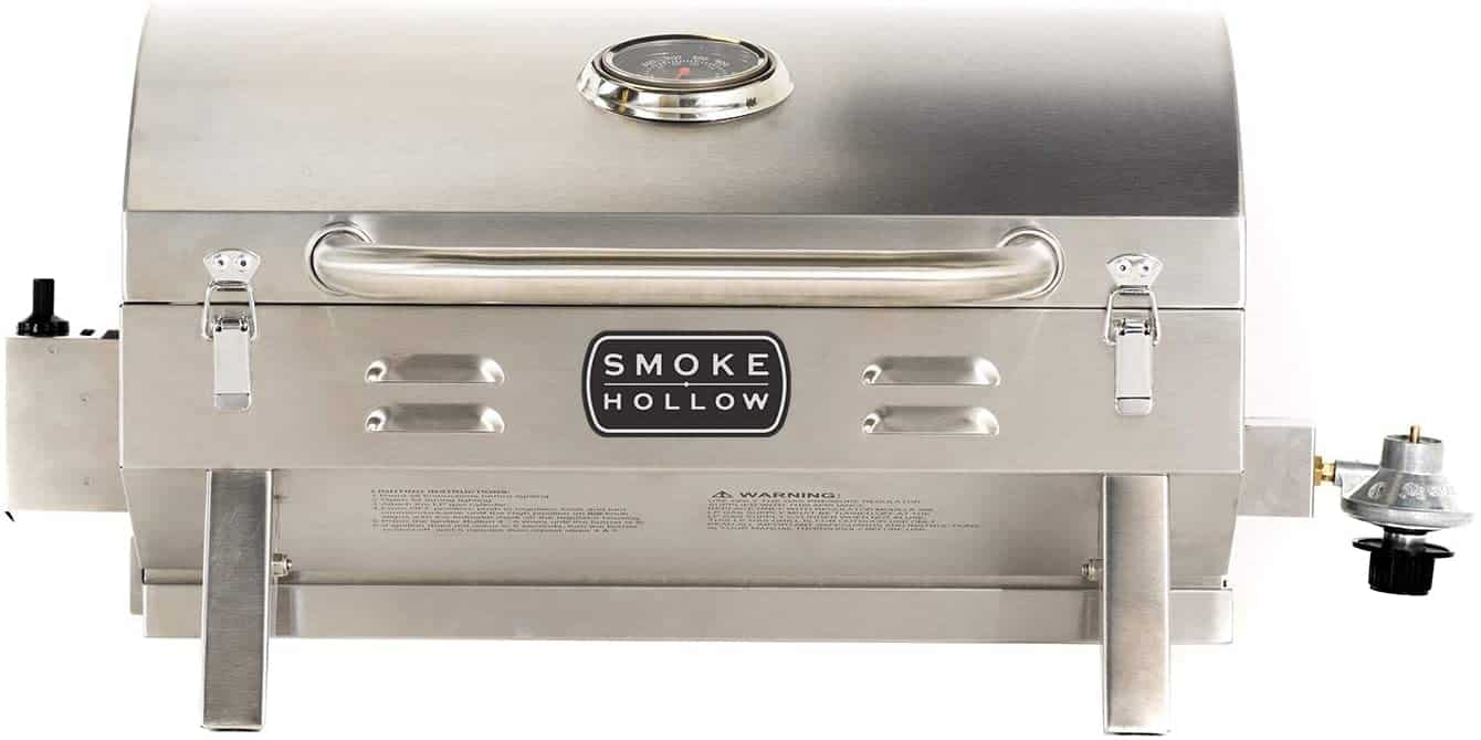 Smoke Hollow Stainless Steel TableTop Propane Gas Grill