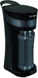 4. Mr. Coffee Pour and Go Coffee Maker