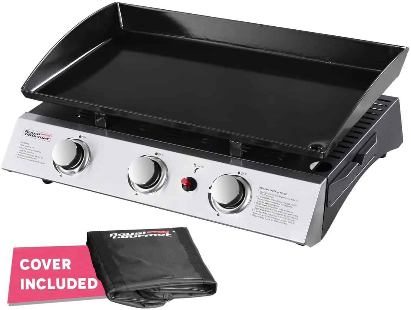 Royal Gourmet PD1300 Portable Gas Griddle