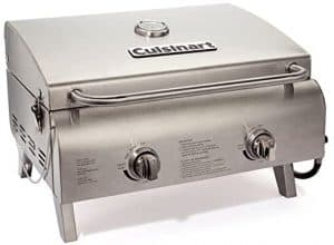 6 CGG-306 Chef's Style Stainless Steel Tabletop Grill