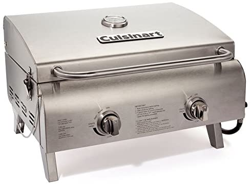 CGG-306 Chef's Style Stainless Steel Tabletop Grill