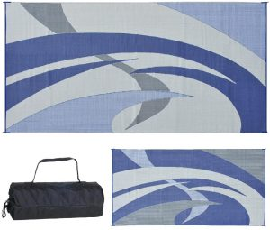 8 Reversible Mats RV Patio Mat