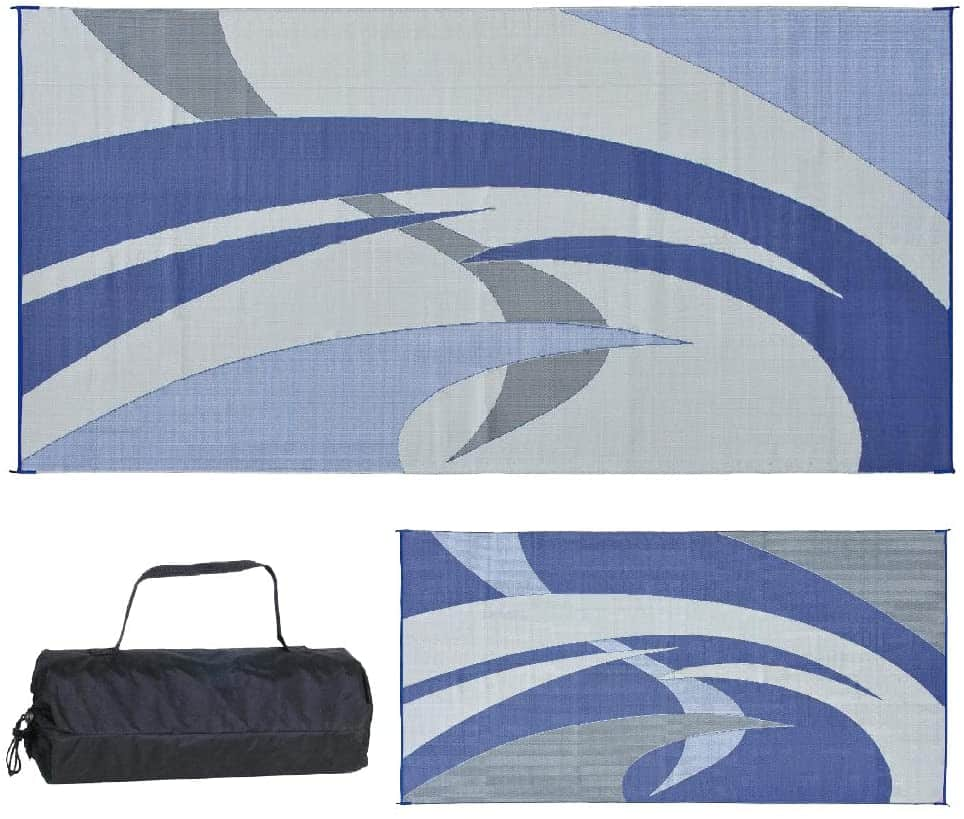 Reversible Mats RV Patio Mat