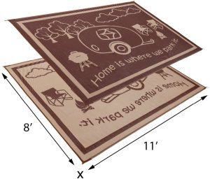 9 Stylish Camping RV Home Mat