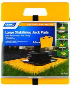 Camco Large 44541 RV Stabilizer Jack Pads
