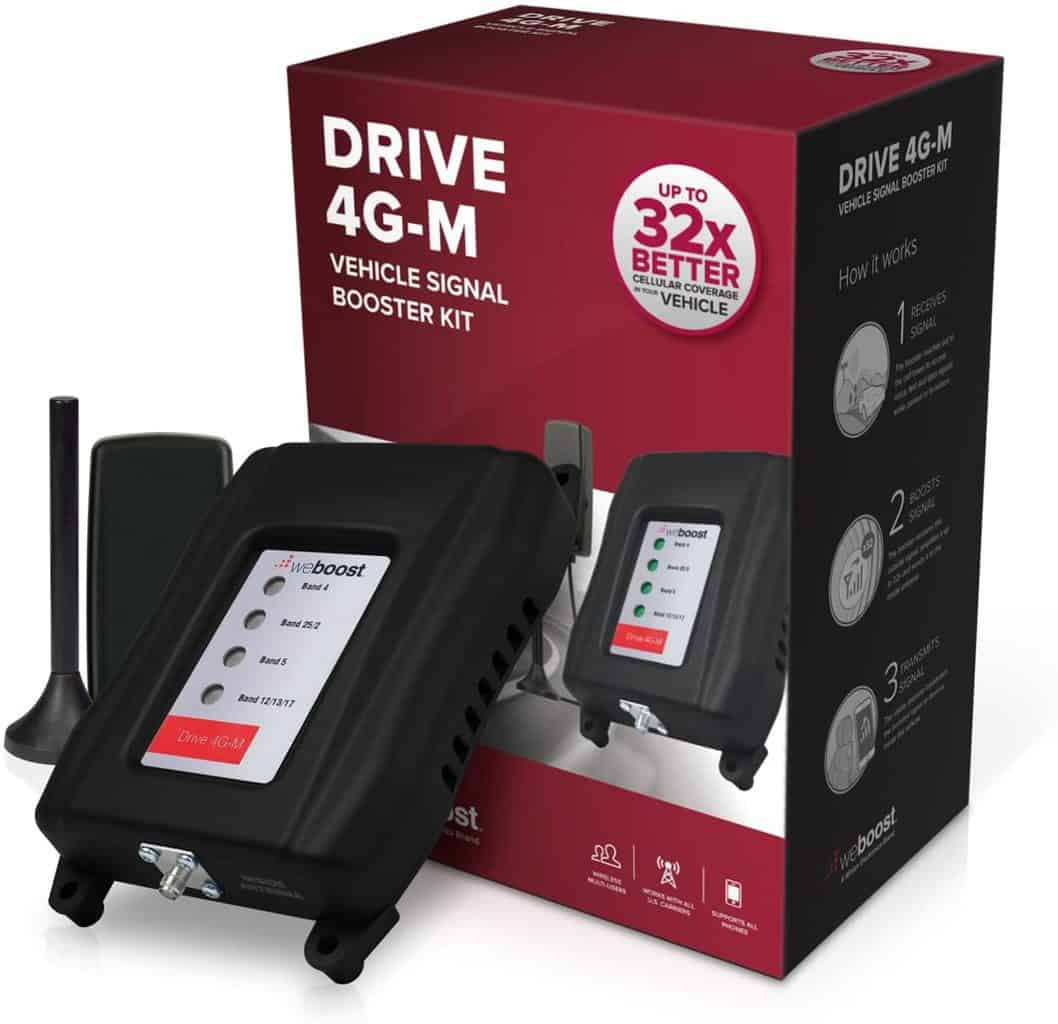 16. weBoost Drive 4G-M 470121 Cell Phone Booster