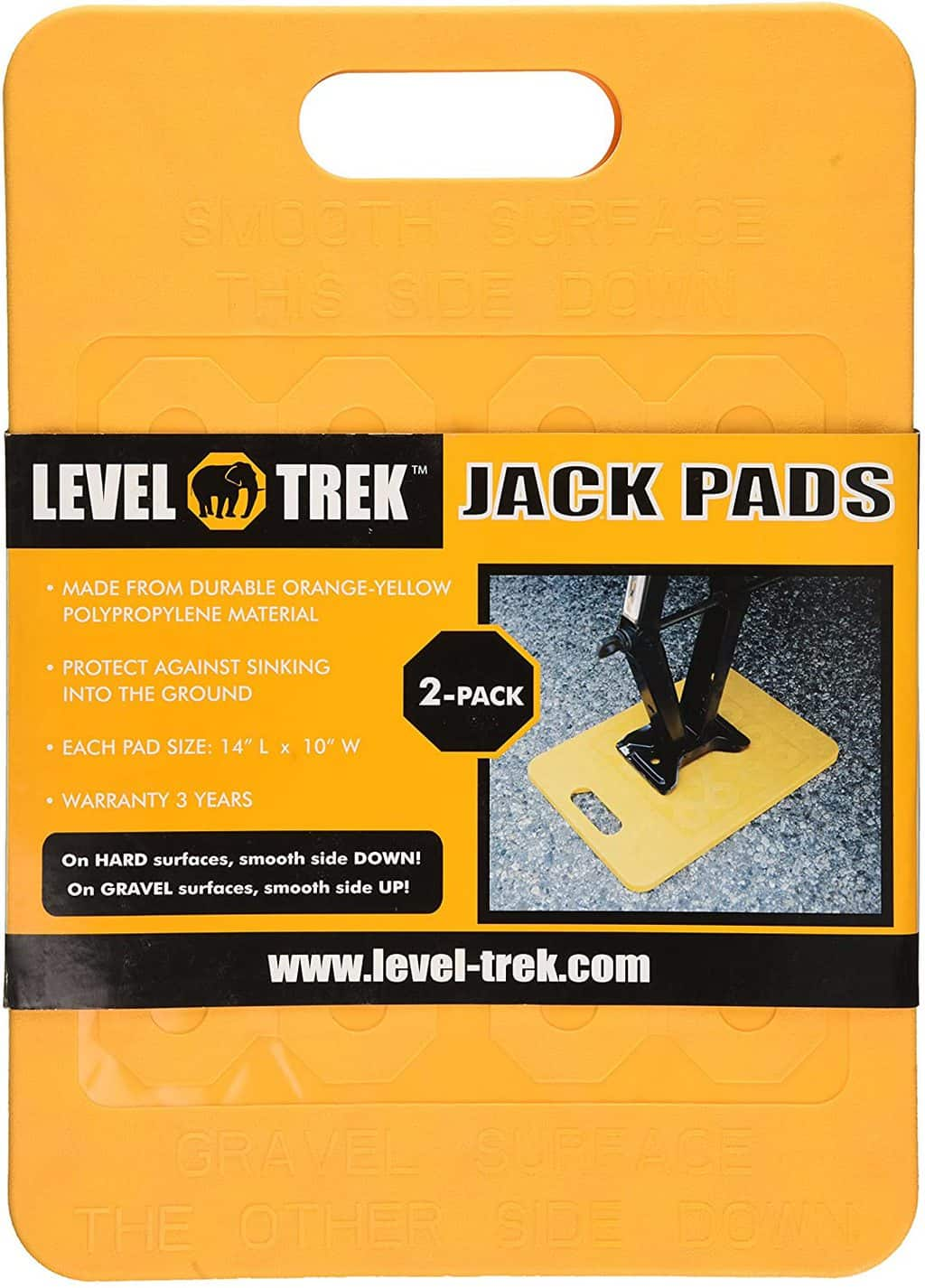 17. Level Trek LT80050 Jack Pad