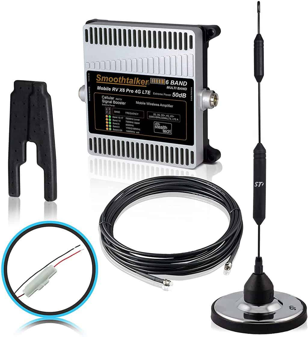 Smoothtalker RV X6 Pro RV Cell Phone  Booster
