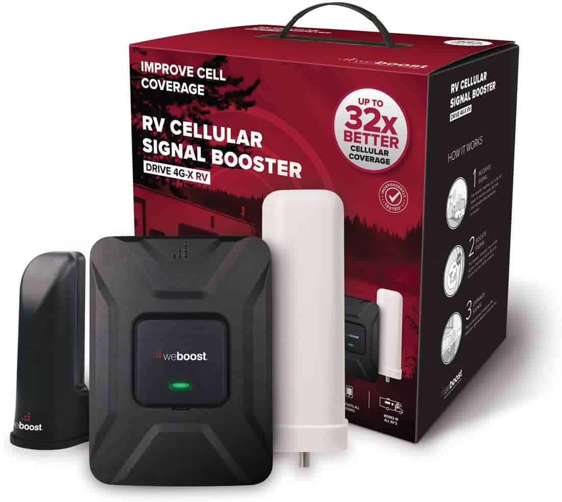 weBoost Drive 4G Phone Booster – XRV(470410)