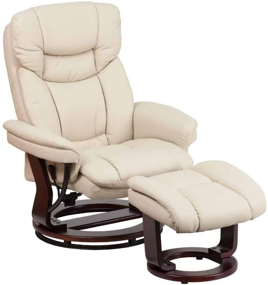 1. Flash Furniture RV Chair with Ottoman