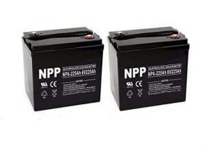 NP6-225Ah 6V 225Ah Deep Cycle Battery