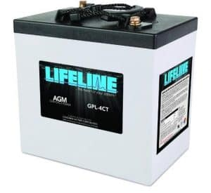 Lifeline Marine Battery - GPL-4CT