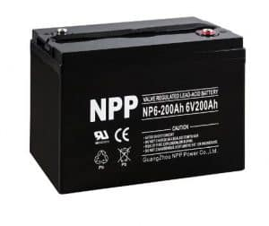 NPP NP6-200Ah 6V 200Ah Deep Cycle