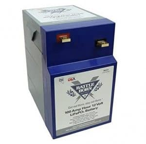 Battle Born LiFePO4 Deep Cycle Battery - 100Ah 12v GC2