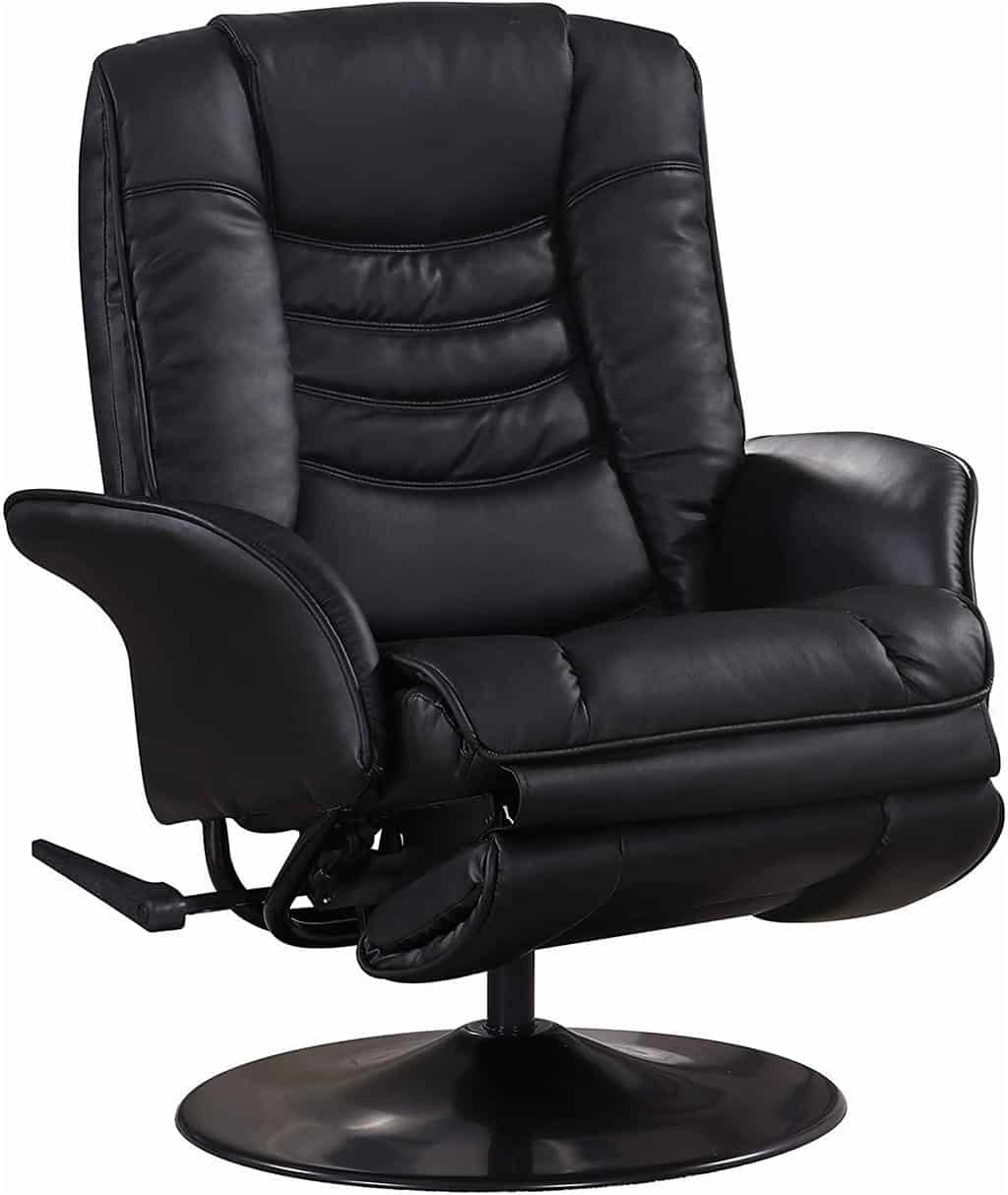 19. Coaster Home Furnishings Swivel Recliner