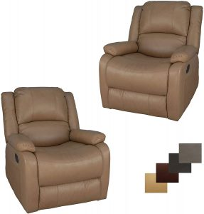 Charles Swivel Glider RV Couch 30''