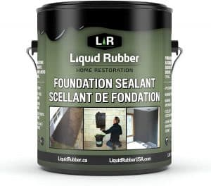 Liquid Rubber 10602 Basement and Foundation Sealant for Indoor and Outdoor Use