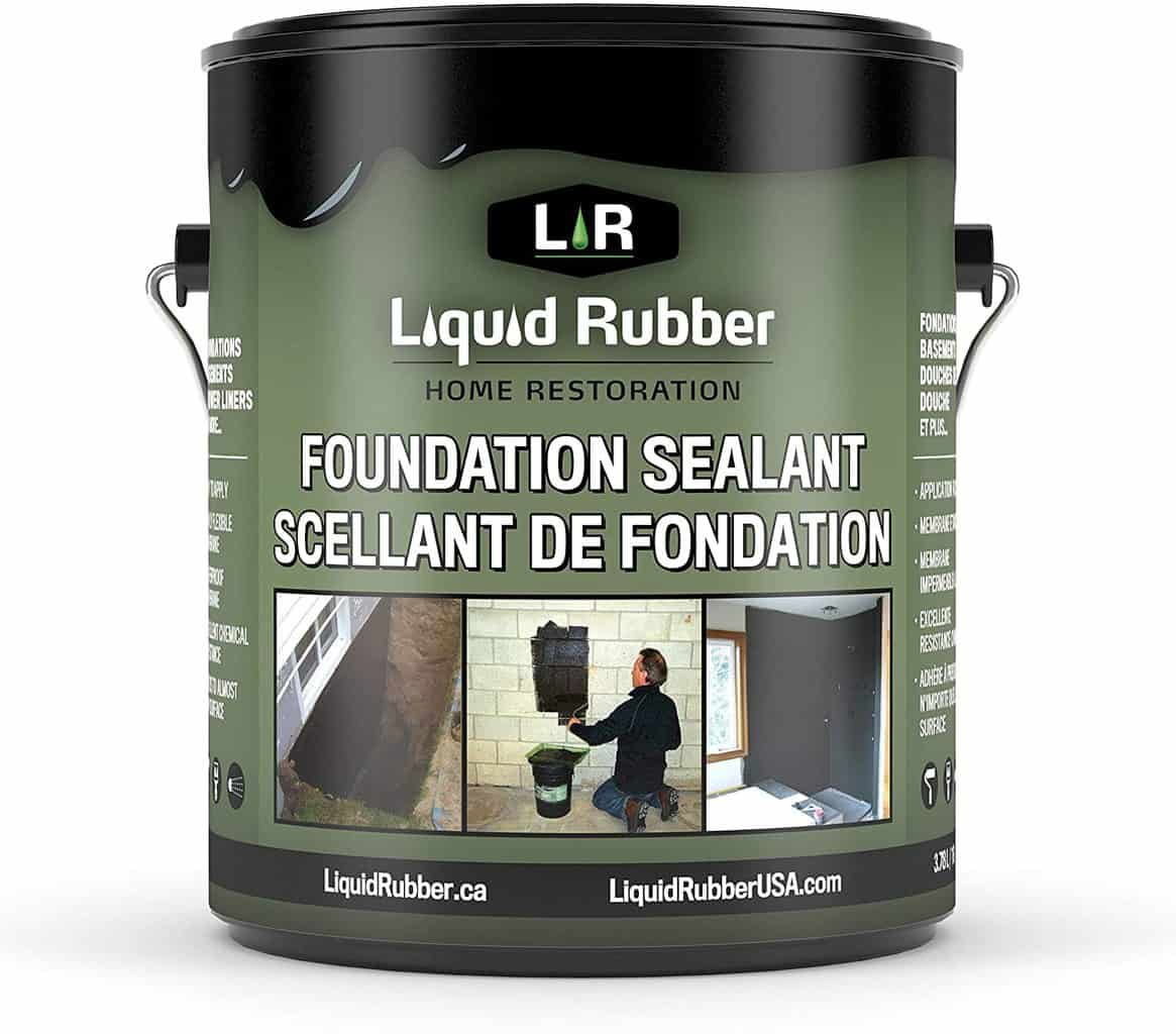 Best Liquid Rubber 10602 Basement and Foundation Sealant for Indoor and Outdoor Use