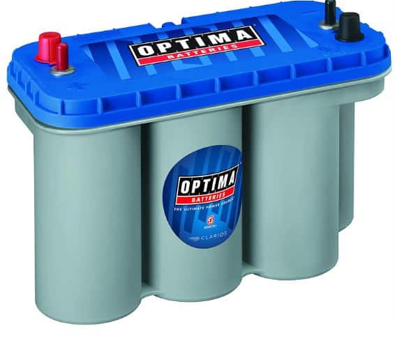 24. Optima Batteries 8052-161 D31M BlueTop Starting and Deep Cycle Battery