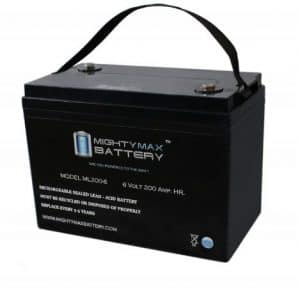 Mighty Max Battery 6V 200AH SLA-AGM Battery