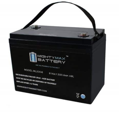 Mighty Max Battery 6V 200AH