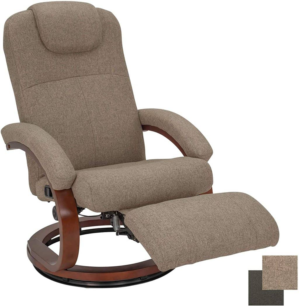 4. Charles Cloth Recreational Vehicle Chair 28""
