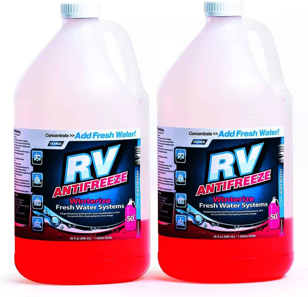 4. RV ANTIFREEZE CONCENTRATE