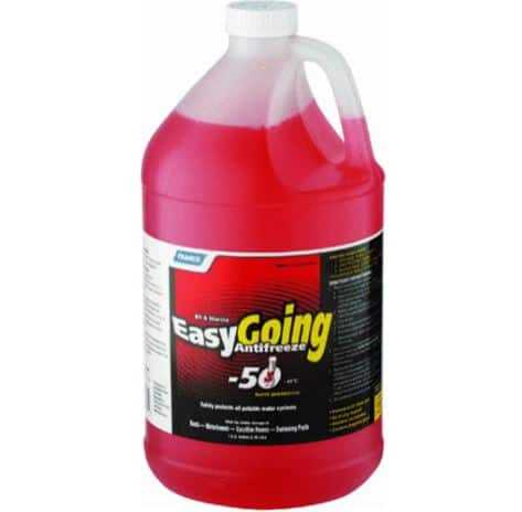 5. EASY GOING RV ANTIFREEZE- CAMCO MFG. 30757 RV