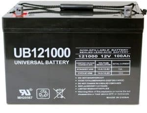 Universal Power Group 12V 100Ah SLA Deep Cycle VRLA Battery