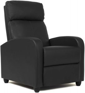 FDW Wingback Leather Seat