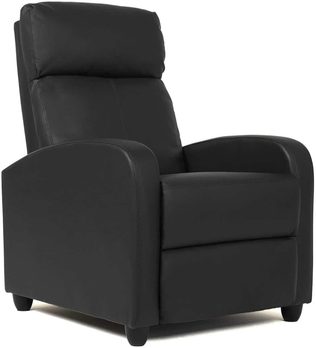 7. FDW Wingback Leather Seat