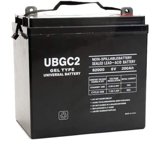 Universal Power Group UBGC2 Gel -40703