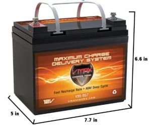 VMAXTANKS VMAX V35-857 12 Volt 35AH Battery