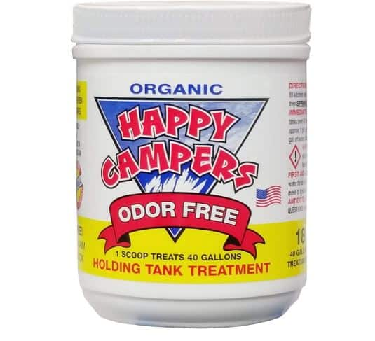 1. Happy Camper Organic Best RV Holding Tank Treatments